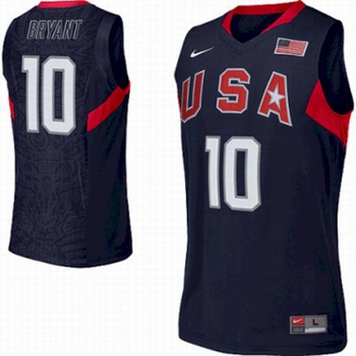 Kobe Bryant Team USA Jersey (2008 Blue)